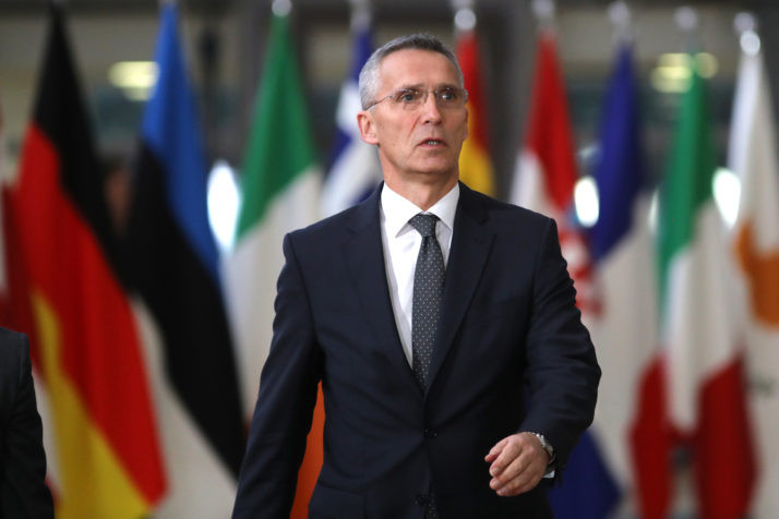 NATO 'in touch' with UK about nerve gas attack - Read More from Politico