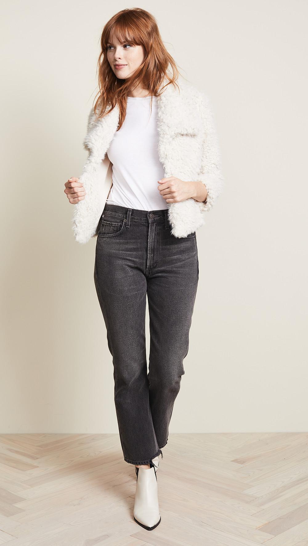 BB Dakota Hugs Don't Lie Faux Fur Jacket $120