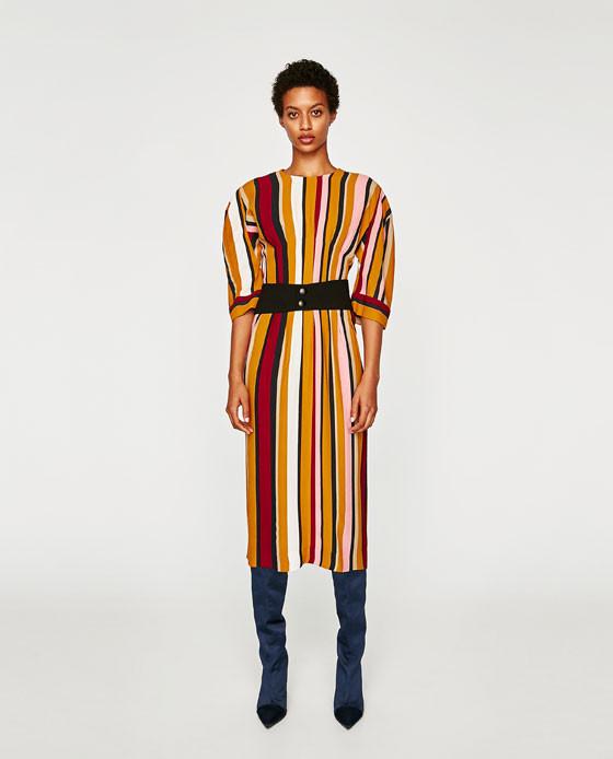 Zara Striped Dress $119