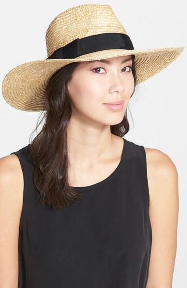 Brixton 'Joanna' Straw Hat $44
