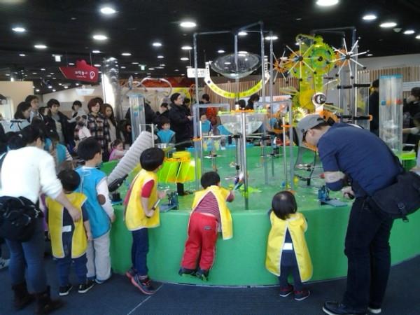 Seoul Korea - Children's Museum water play