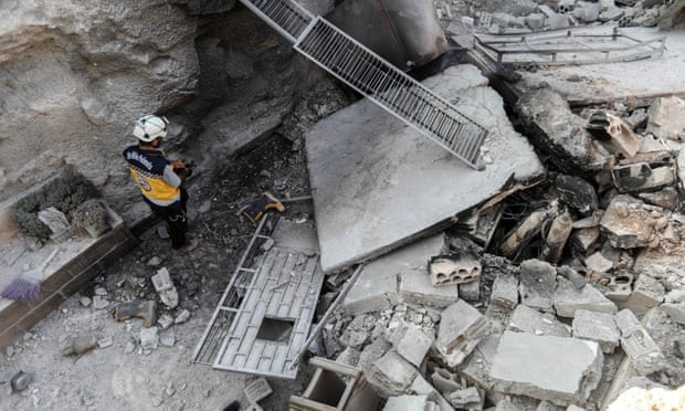 'Lots of evidence' Syria preparing chemical weapons in Idlib, says US envoy - Read More from The Guardian