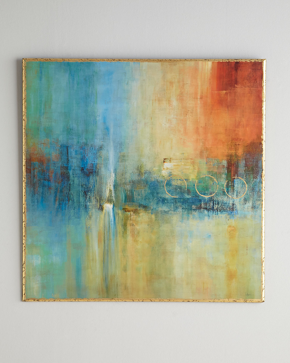 John-Richard Collection Blue Cascade Abstract Giclee now $337.50 - available at Neiman Marcus
