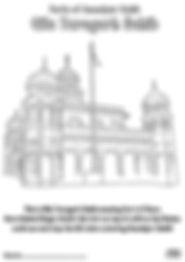 Fort Qila Taragarh Anandpur Sahib Khalsa Fun Activity Sheet Guru Gobind Singh Ji