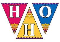 Bandi Chhor Divas Bunting Coloured -HHO.