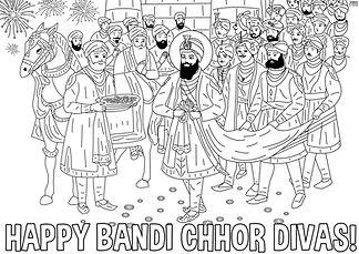 Bandi Chhor Divas Colouring Activity 3.j