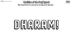 Panj Pyare Dharam Quality Ji Vaisakhi 1699 History Khalsa Amrit Ceremony Guru Gobind Singh Ji Fun Activity Sheet