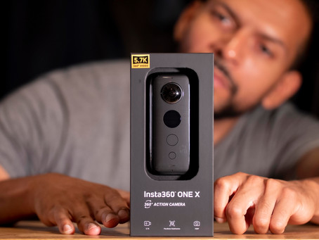 Insta360 ONE X.. I'm joining the 360 world