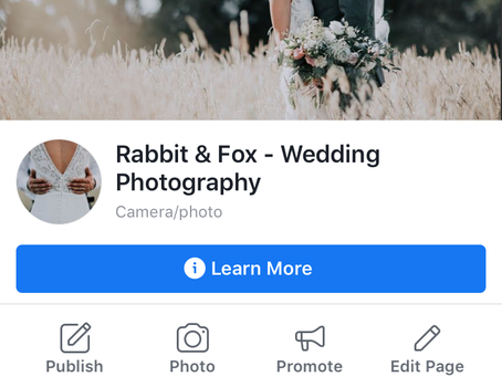 "LIKE the new Social Pages ""Rabbit & Fox""!"