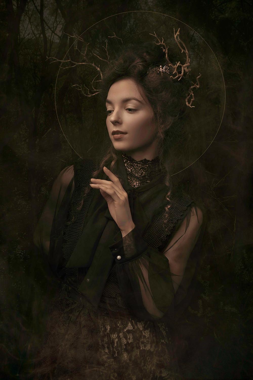 Kayla | Creative Portrait | Photoshop | Smoke
