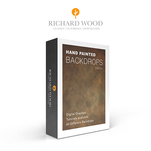 Richard Wood 60 Hand Painted Backgrounds