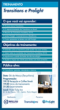 FLYER_TREINAMENTO_Transitions e Prolight