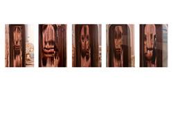Five Self Portraits