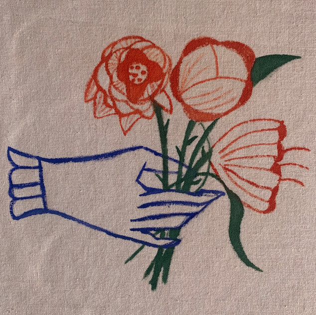Vintage Bouquet detail