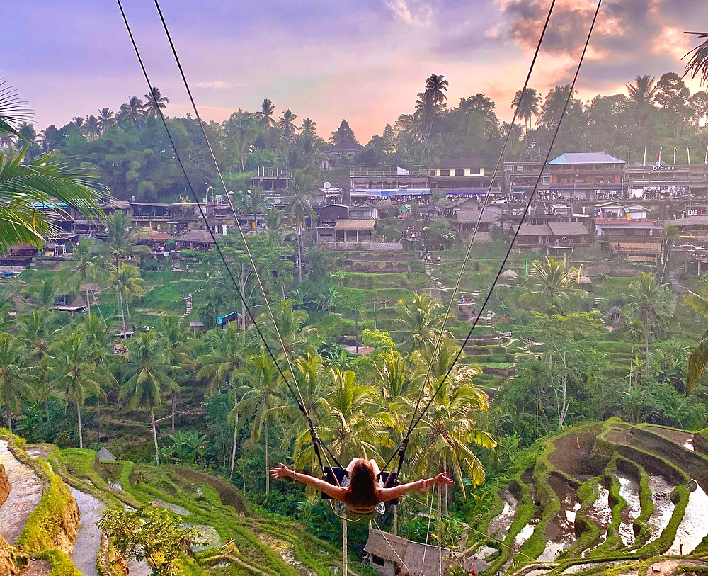 Enjoy your life to the fullest by shifting your mentality from scarcity to abundance. (Bali, Indonesia)