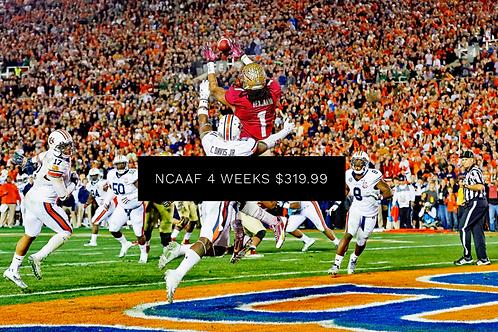 NCAAF 4 Weeks