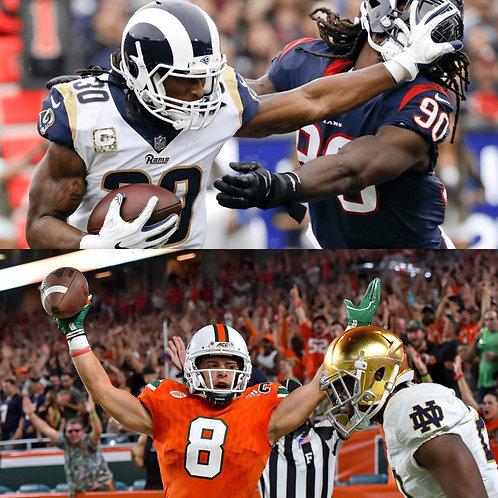 NFL & NCAAF 4 Week Combo