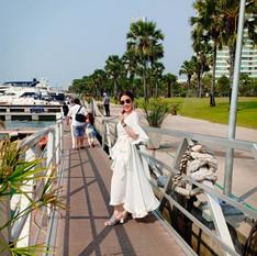 customer posting at ocean marina yacht c