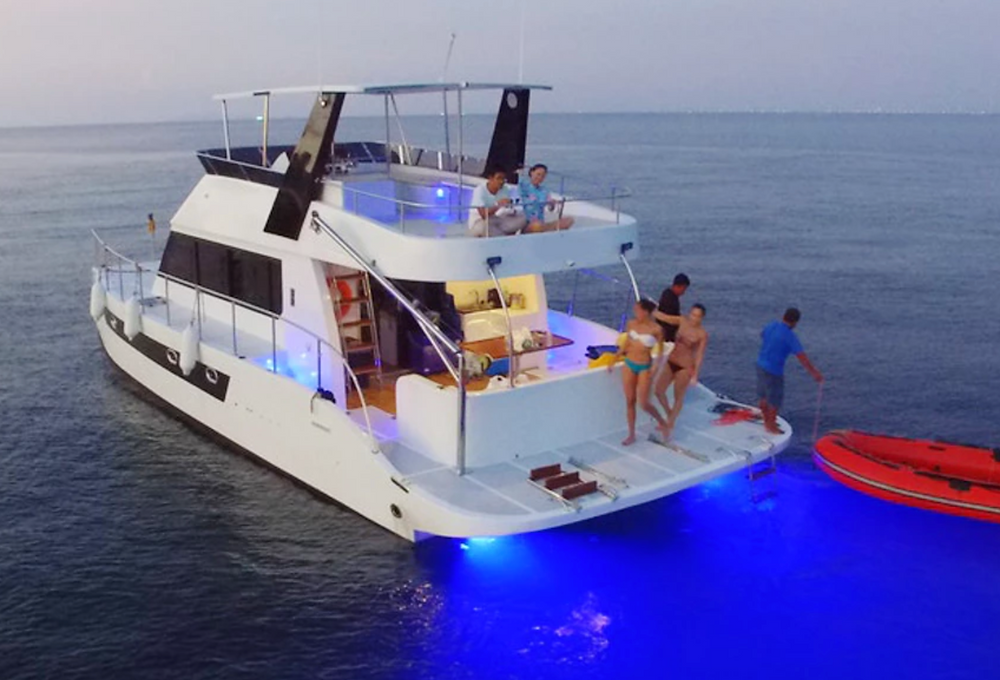 Catamaran Yacht for Charter In Pattaya by Ocean Escape Charter