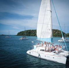 SC500 drone sailing catamaran pattaya.pn