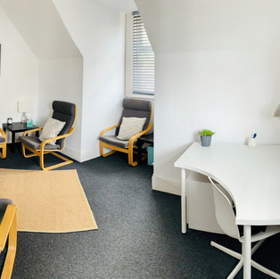 Panoramic view of therapy room A