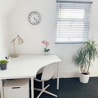 Therapy Room A Desk Area