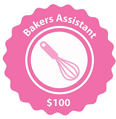 bakers assistant national cupcake badge