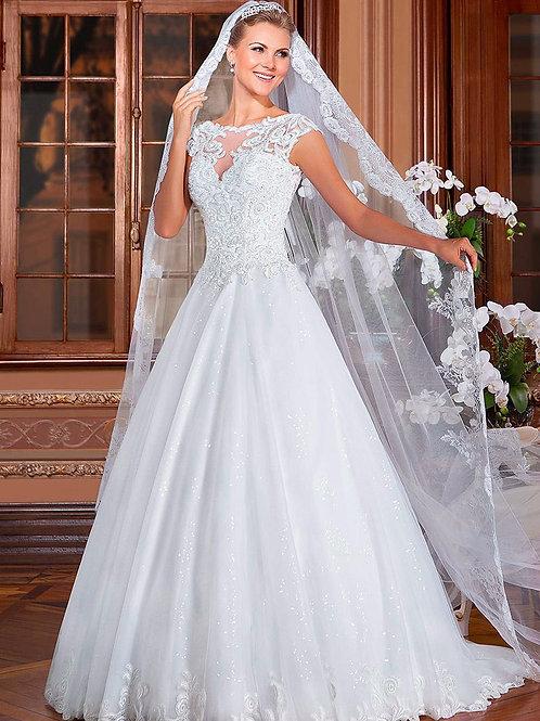 Vestido De Noiva Princesa Magninute