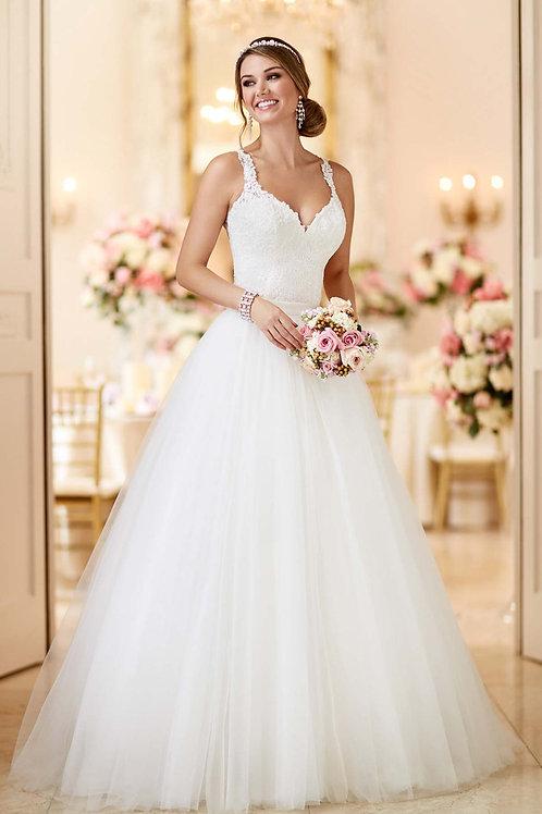 Vestido De Noiva Dois Em Um Tule