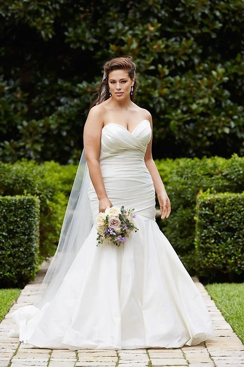 Vestido De Noiva Aprovada Plus Size
