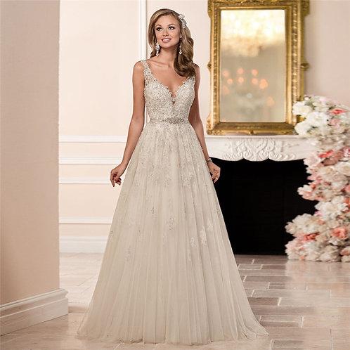 Vestido De Noiva Casamento Ao Ar Livre Mérito