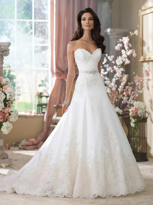 Vestido De Noiva Tomara Que Caia Deslubrante