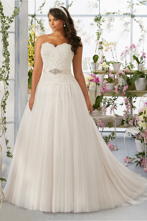 Vestido De Noiva Plus Size Província