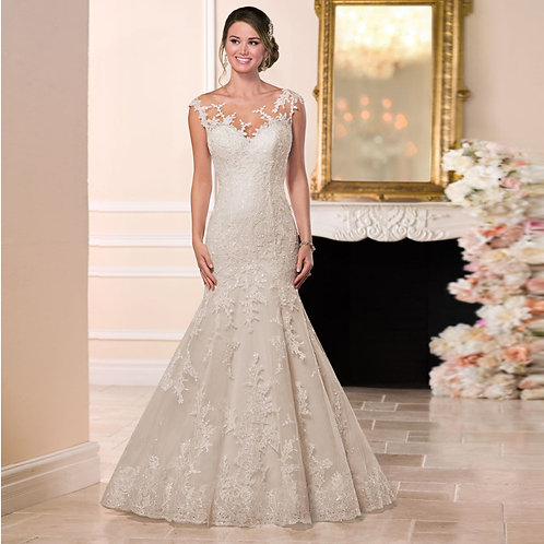 Vestido De Noiva Sereia Carismática