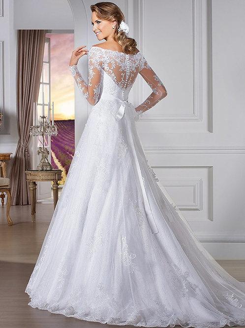Vestido De Noiva Manga Longa Importância