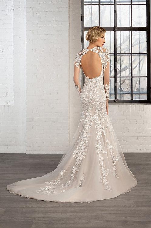 Vestido De Noiva Meia Sereia Generosa