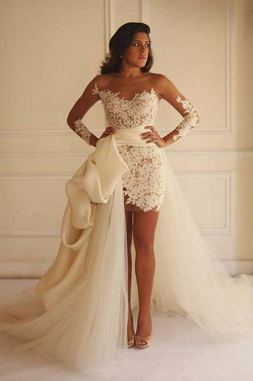 Vestido De Noiva 2 em 1 Vitória