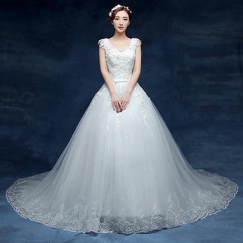 Vestido De Noiva Princesa Fascinar