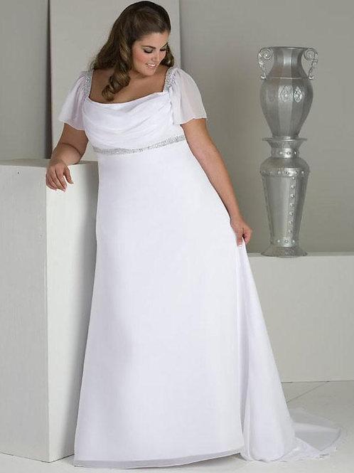 Vestido De Noiva Plus Size Audácia