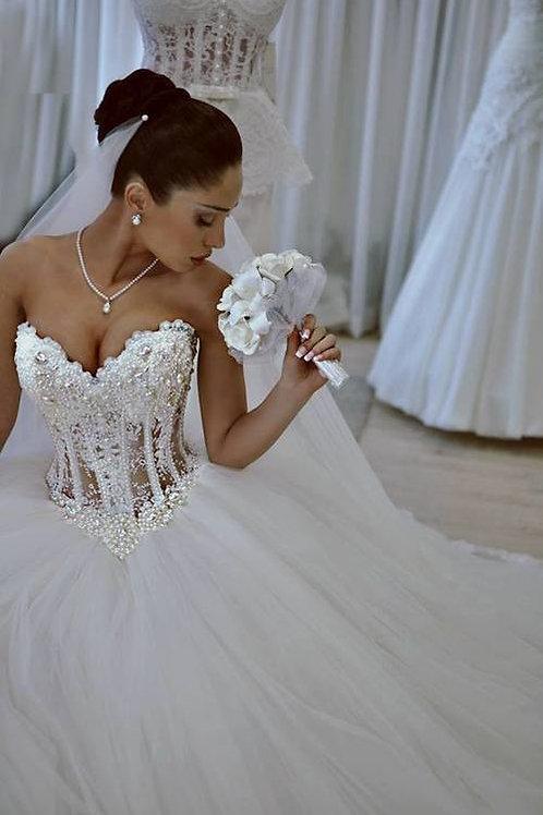 Vestido De Noiva Ambição Tomara Que Caia