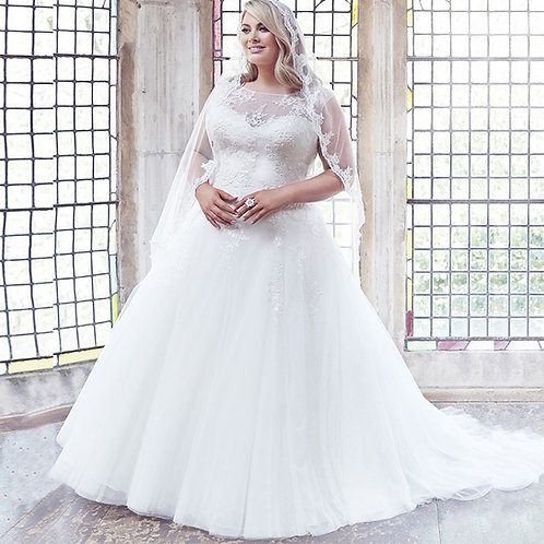 Vestido De Noiva Plus Size Extraordinário