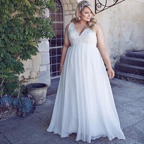 Vestido De Noiva Plus Size Liberdade