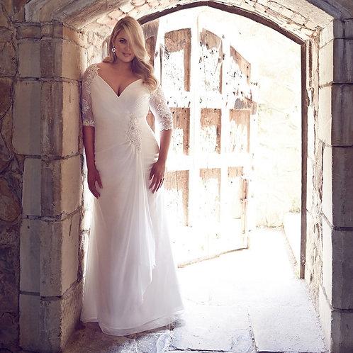 Vestido De Noiva Plus Size Mestria