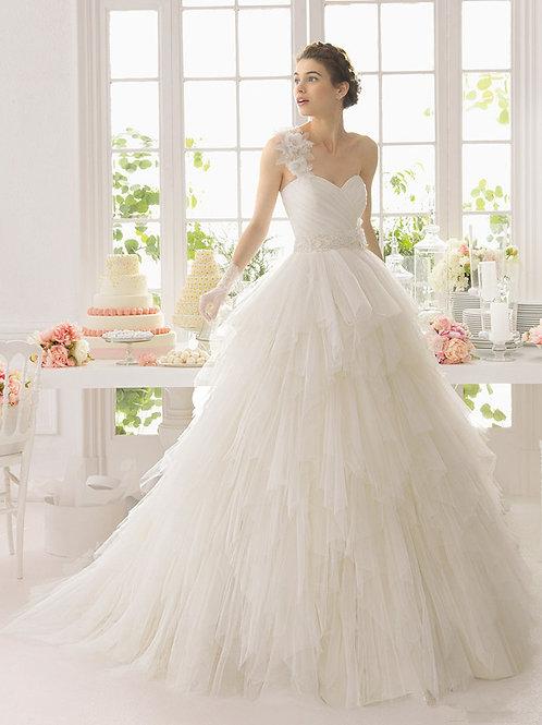 Vestido De Noiva Romântico Tomara Que Caia