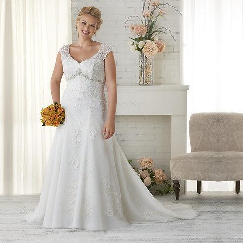 Vestido De Noiva Específica Plus Size