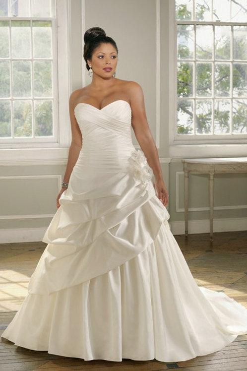 Vestido De Noiva Incontestável Plus Size