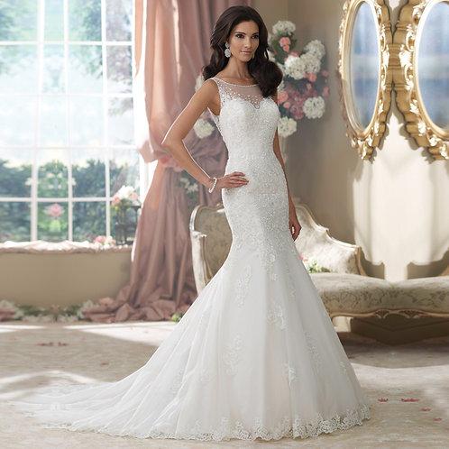 Vestido De Noiva Sereia Formosura