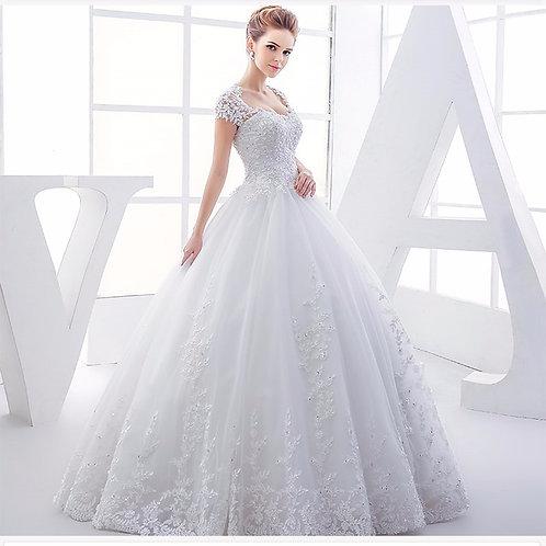 Vestido De Noiva Princesa Perfeição