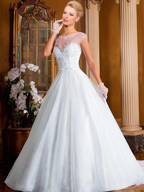 Vestido De Noiva Gloriosa Manga Curta