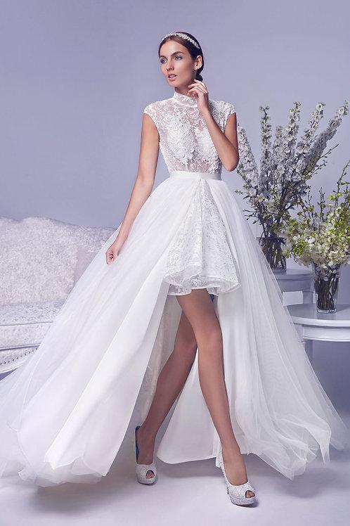 Vestido De Noiva 2 em 1 Aparecer